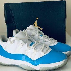 Jordan 11 low Columbia blue